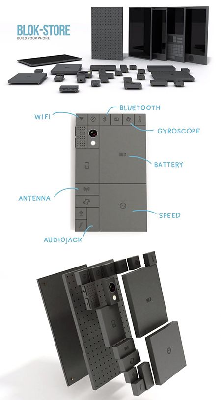 Parts of a Phoneblok #Phoneblok #Foreverphone #technology #NHSBTT