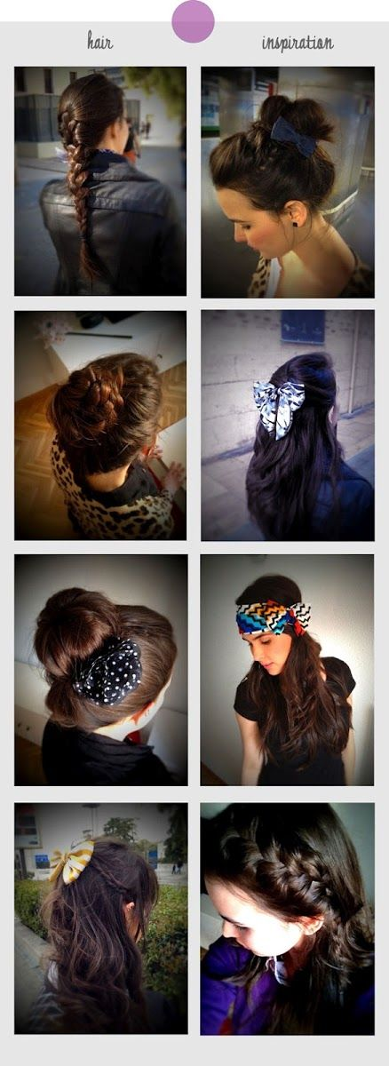Some Hairstyles Inspiration   hairstyles tutorial