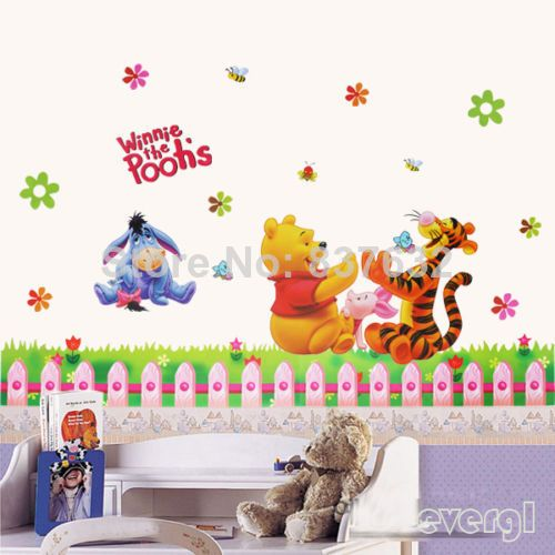 Good Winnie The Pooh Wall Sticker Nursery Baby Room Decor Removable Vinyl Decals  HOT Part 26