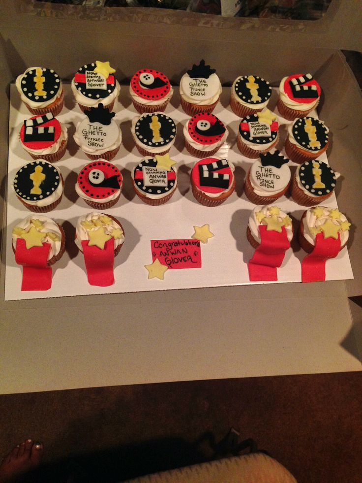 10 Images About Red Carpet Cupcakes On Pinterest