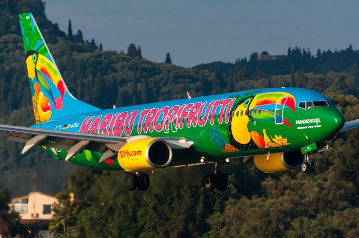 D-ATUJ - TUIfly - Boeing 737-800 *Haribo Tropifrutti c/s*   por 5B-DUS