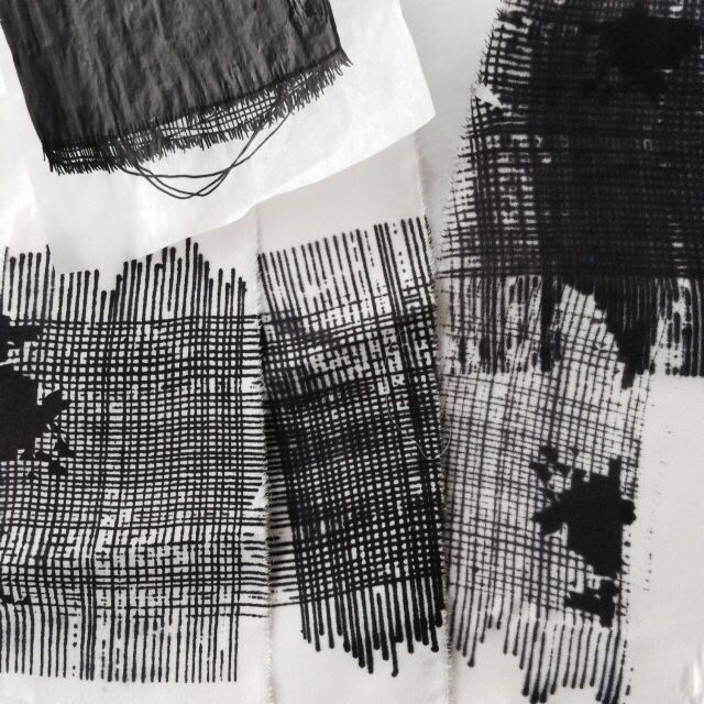 First prints..  #theBorocollection by #paolamelendez