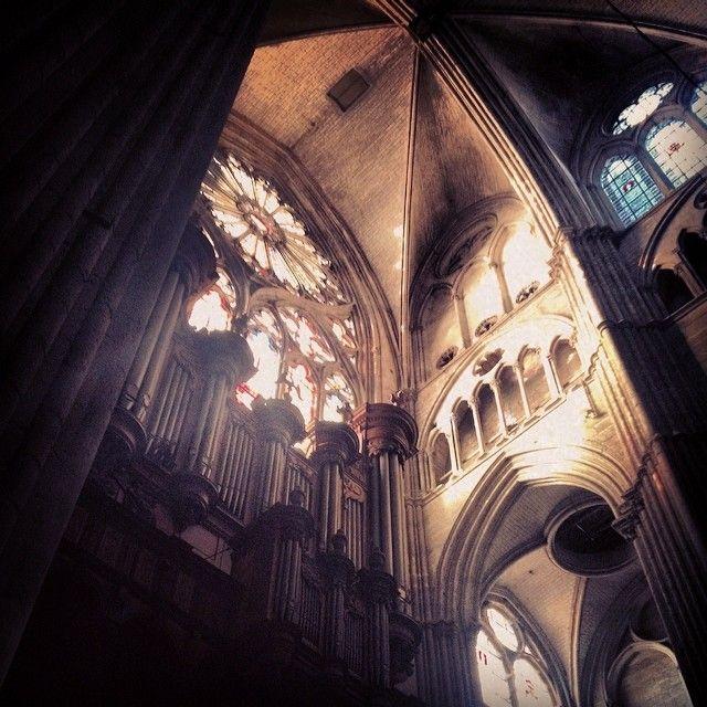 Orgue de la cathédrale Saint Etienne de Bourges