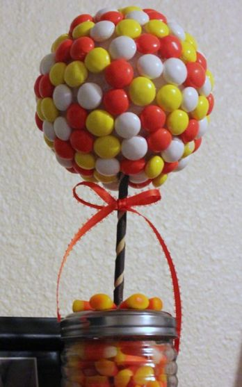 How to Make Candy Topiary #stepbystep