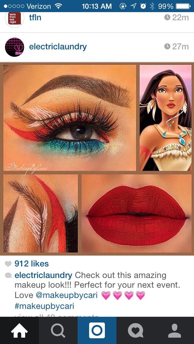 Pochahontas Makeup!