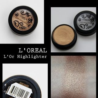 MichelaIsMyName: L'OREAL L'Or Highlighter REVIEW