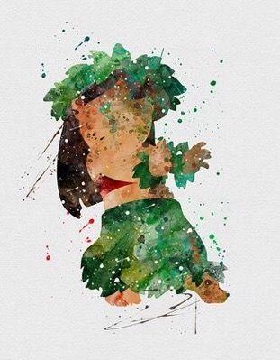 Lilo watercolor