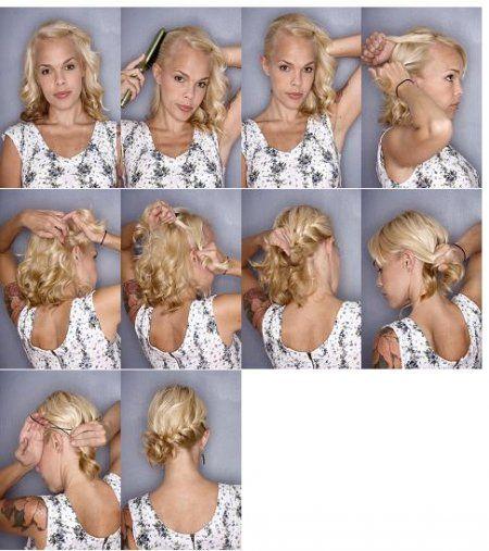 coiffures cheveux mi-long - Recherche Google