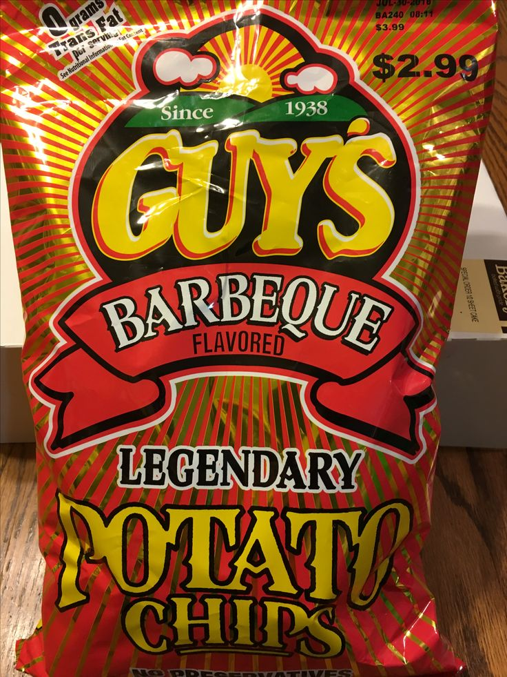 Guy's barbeque chips