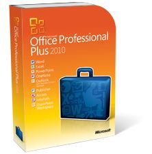 Microsoft® Office Professional Plus 2010 를 구매하다. 10,800원