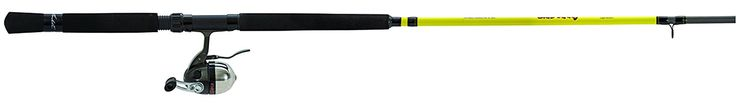 Lew's Fishing Mr. Crappie Slab Daddy Underspin 2 Piece Rod and Reel Combo, 10'/Light/4.9 oz./70 yd./6 lb./4.3:1 >>> For more information, visit image link.
