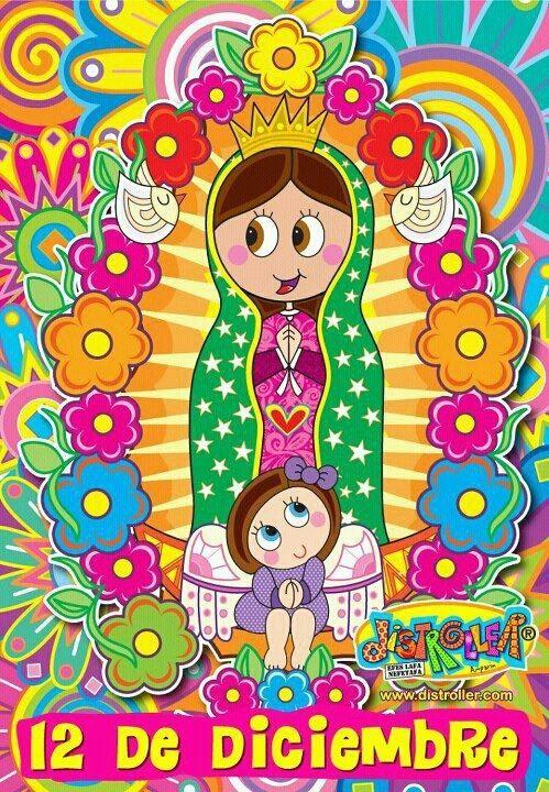17 mejores ideas sobre Virgen De Guadalupe Animada en Pinterest ...