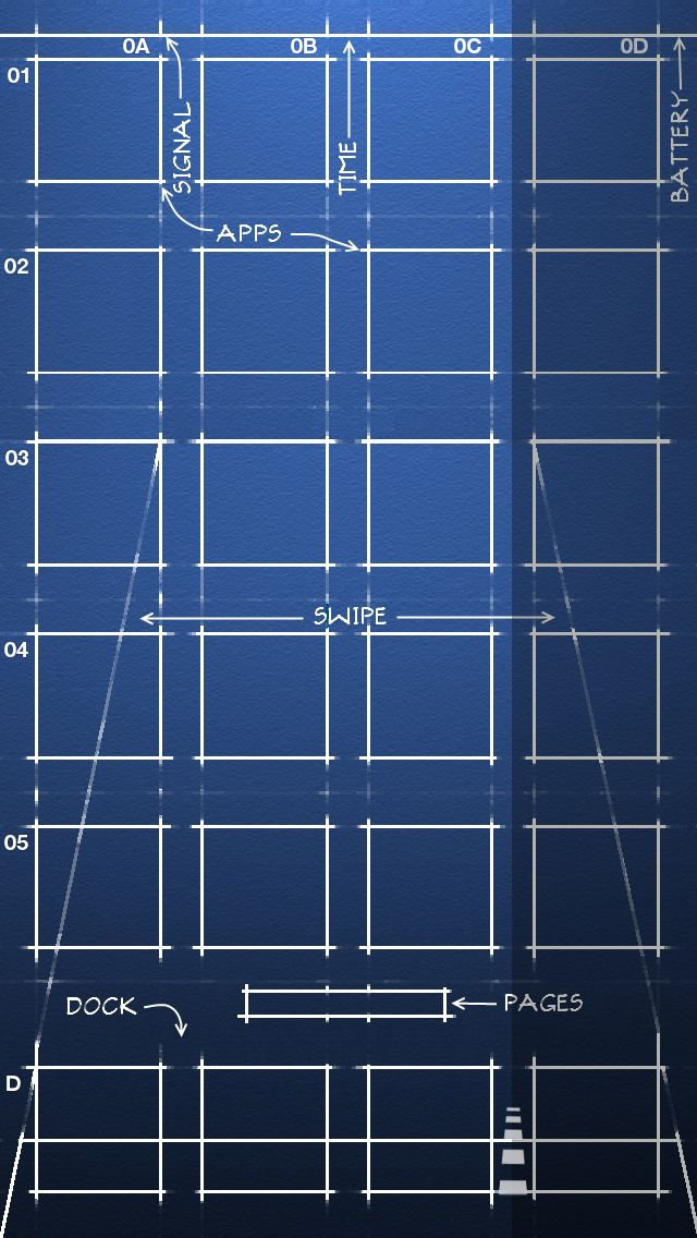 21 best iphone 5 wallpapers images on pinterest backgrounds iphone ios 7 blueprint wallpaper by malvernweather Gallery