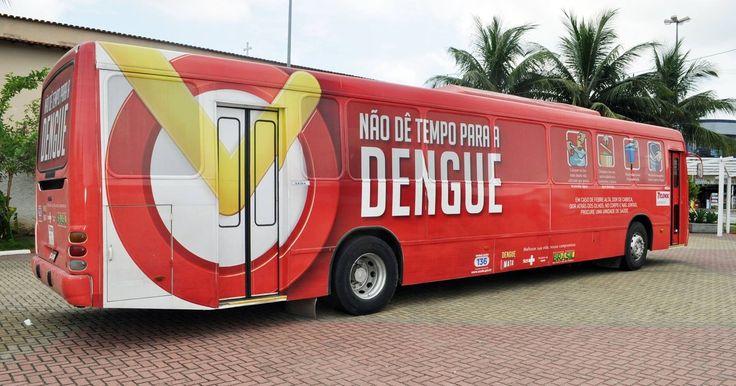 Ônibus visita escolas de Cabo Frio, RJ, prevenindo contra a dengue