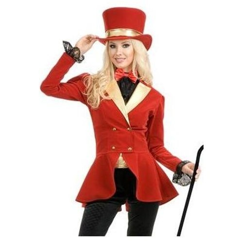 Circus costumes for kids and adults include scary clown costumes, sexy clown costumes, and circus ringmaster costumes.