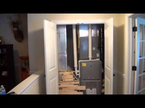 Gibson Basement Ideas Walk Through Part 1 Finished Ceiling