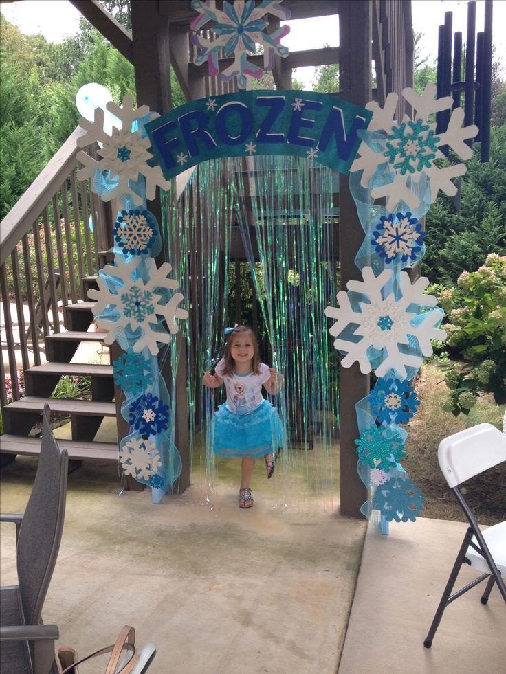 entrada para a princesa frozen