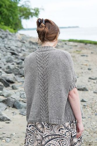 Ravelry: Teakwood Cocoon pattern by Cecily Glowik MacDonald