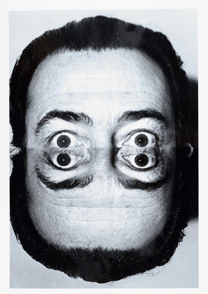 Weegee (Arthur Fellig), Salvador Dali, 1960. Paris. Koller Auctions