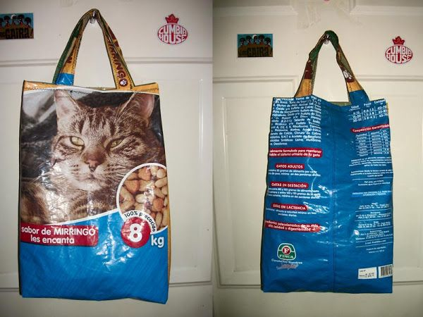 17 best images about reciclado de bolsas de nylon on - Manualidades de gatos ...