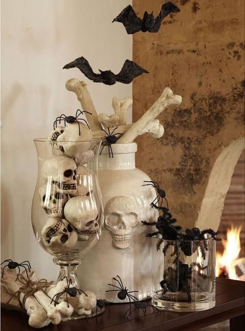 20 elegant halloween decorating ideas - Halloween Display Ideas