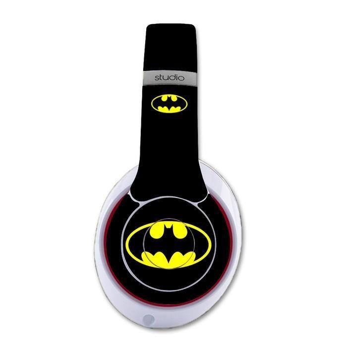 Batman decal for Monster Beats Studio 2.0 wireless headphones