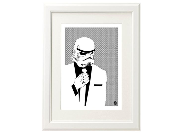 Plakat A3 - Suitrooper, Star Wars - DrawGeek - Wydruki cyfrowe