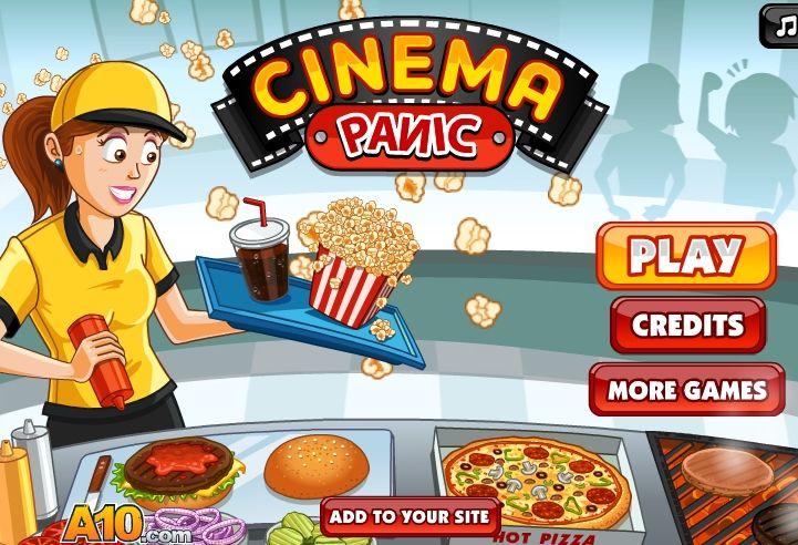 Sinema Salonu İşetme oyununu oynayarak sinema salonunu işletmeye ve para kazanmaya hazır mısınız ?  http://www.garajoyun.com/sinema-salonu-isletme.html