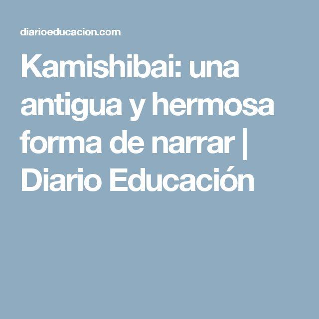 Kamishibai: una antigua y hermosa forma de narrar | Diario Educación