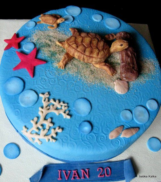Turtle cake - Torta   s korytnačkou