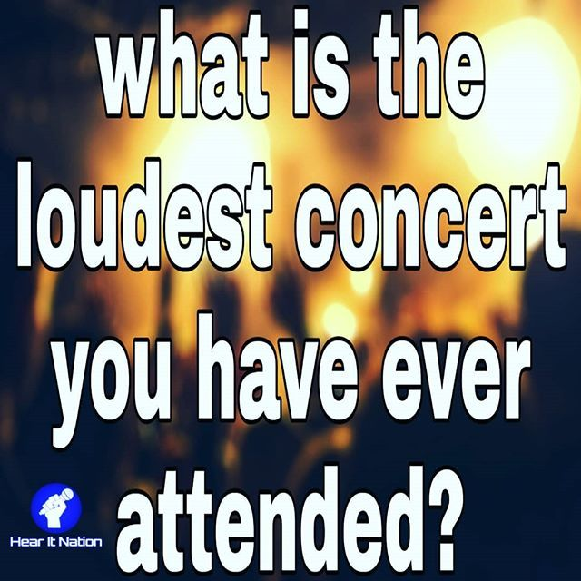 There Has Been A Few Loud Concert Meme Questionoftheday Concert National Instagram