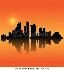 Image result for silhouette building photography