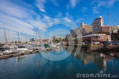 Durban Yacht Basin at point yacht club in the harbor South-Africa.