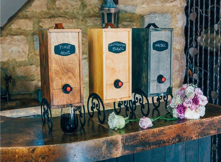 Box Wine Dispenser makes the perfect gift. The Wine Nook is a beautiful and functional wooden box wine dispenser for your home & great for parties too!