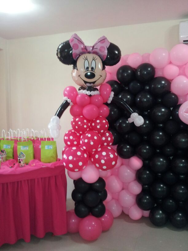decoraci n minnie globos micky minnie pinterest