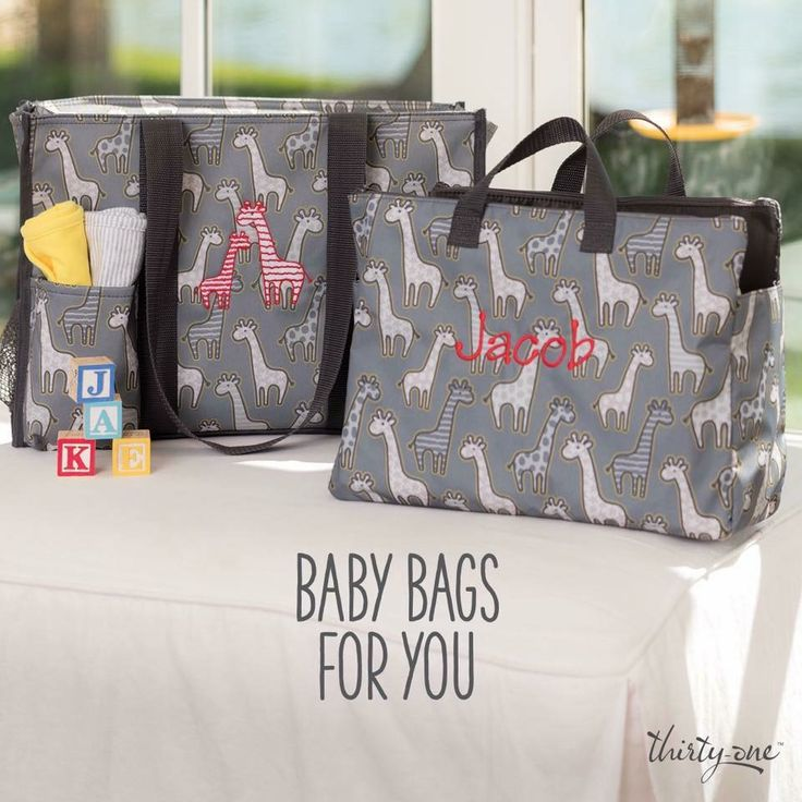Thirty-One Baby Bags