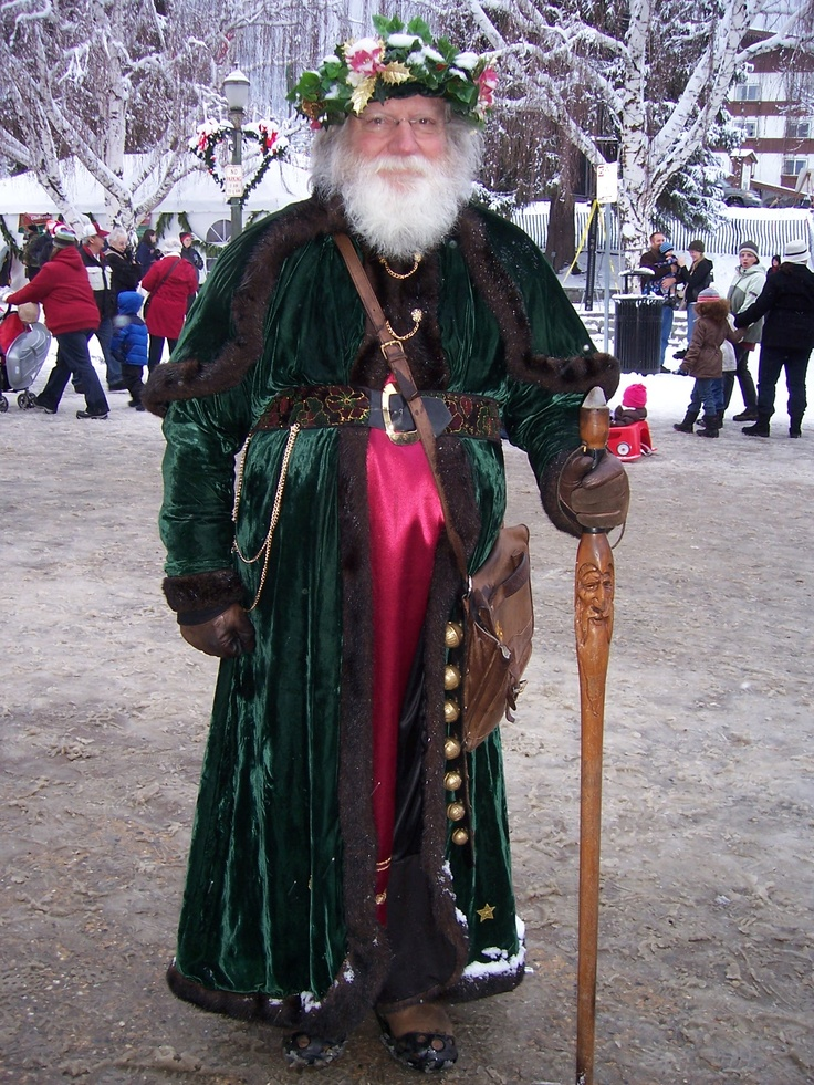 Father Christmas (did you know he used to be a Seattle cop?)