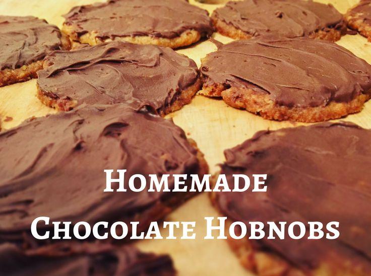 Homemade Chocolate Hobnobs  bobsys mum  #foodiefriday