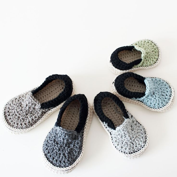 39 best ShowroomCrochet images on Pinterest | Crochet slippers ...