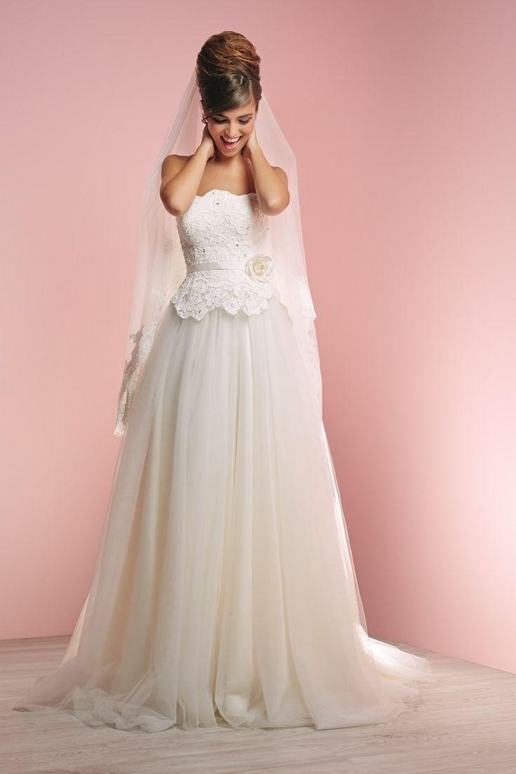 Mejores 28 imágenes de Robes en Pinterest | Vestidos de novia ...