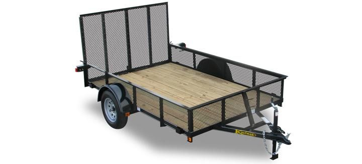 16 Single Axle Trailer : Best images about utility trailers on pinterest