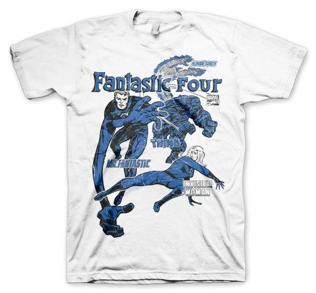 Marvel Fantastic Four Koszulka Męska