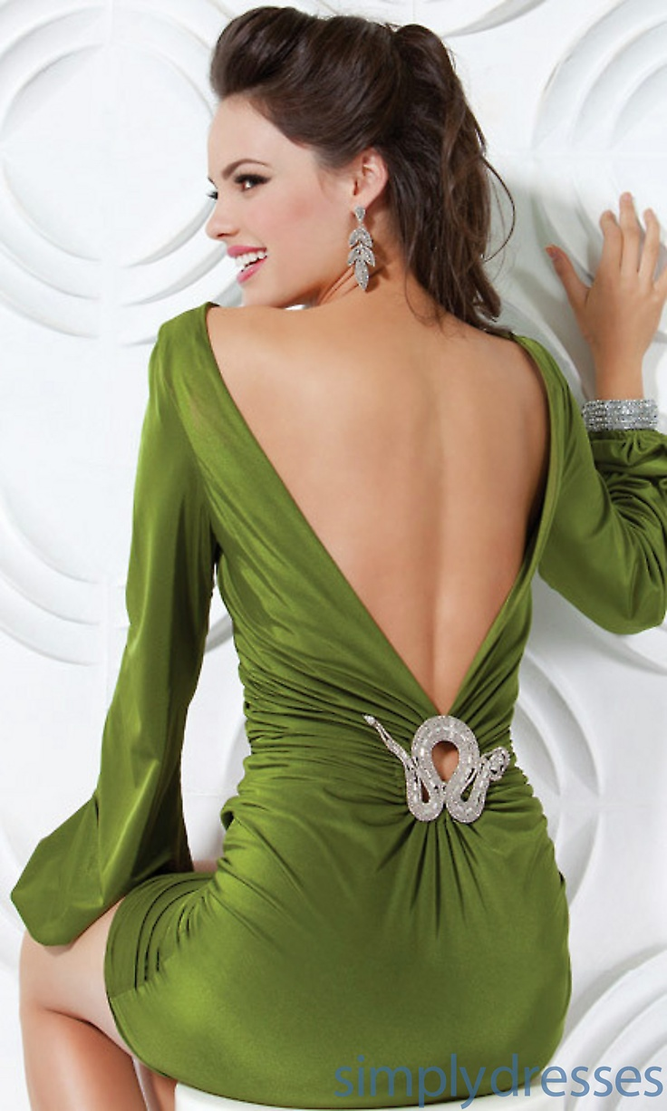 37 best bolo abiyeler images on pinterest maternity gowns prom long sleeve short jovani dress in olive sexy back ombrellifo Image collections