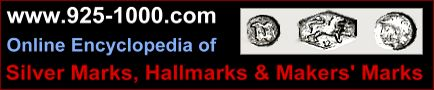Online Encyclopedia of Silver Marks, Hallmarks & Makers' Marks
