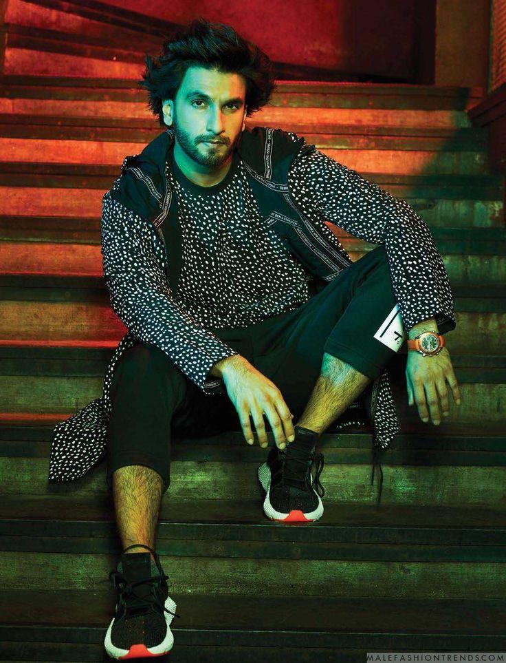 Male Fashion Trends: Ranveer Singh se interna en una noche de rave para Rolling Stone India