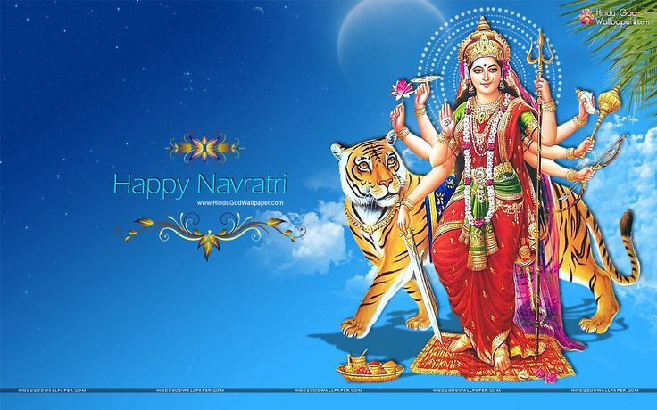 May your life be filled with happiness on this pious festival of Navratri, Happy Navratri- #Sankalp_Builders