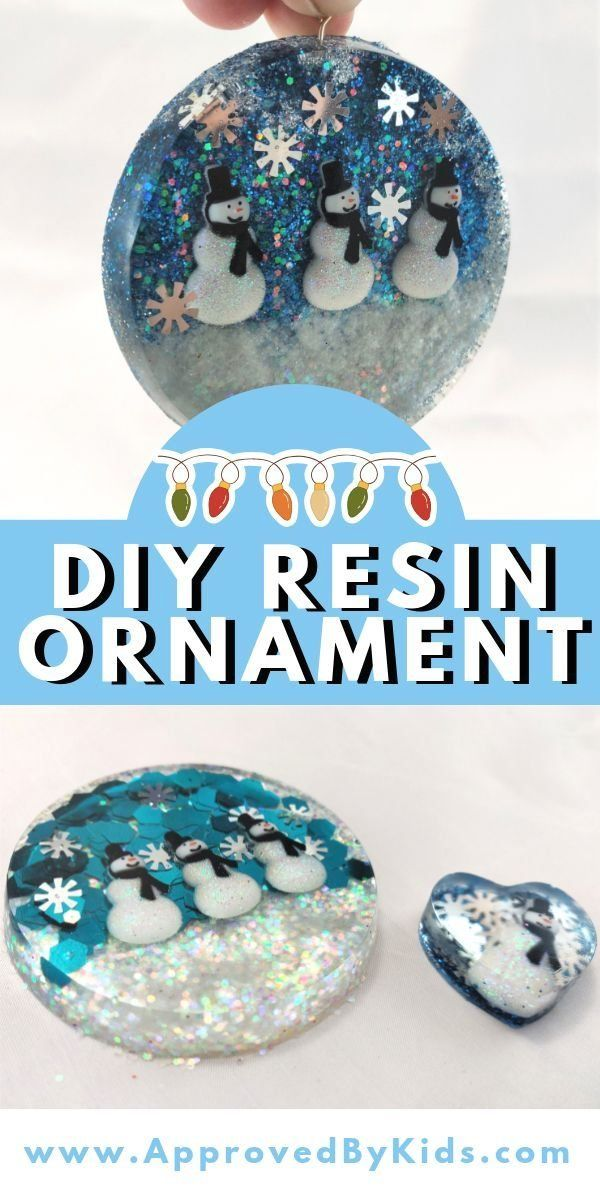 How to Make an Easy DIY Resin Ornament [Christmas 2020 ] | 1003 in