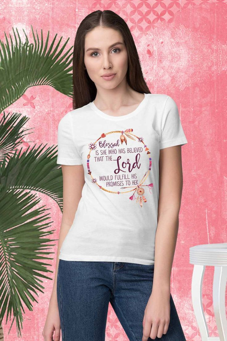 Blessed is She - Womens Tshirt#livethelittlethings #thehappynow #pursuepretty #thrivewhereistand #abmlifeiscolorful #lifelivedbeautifully #calledtobecreative #communityovercompetition #blessedisshe