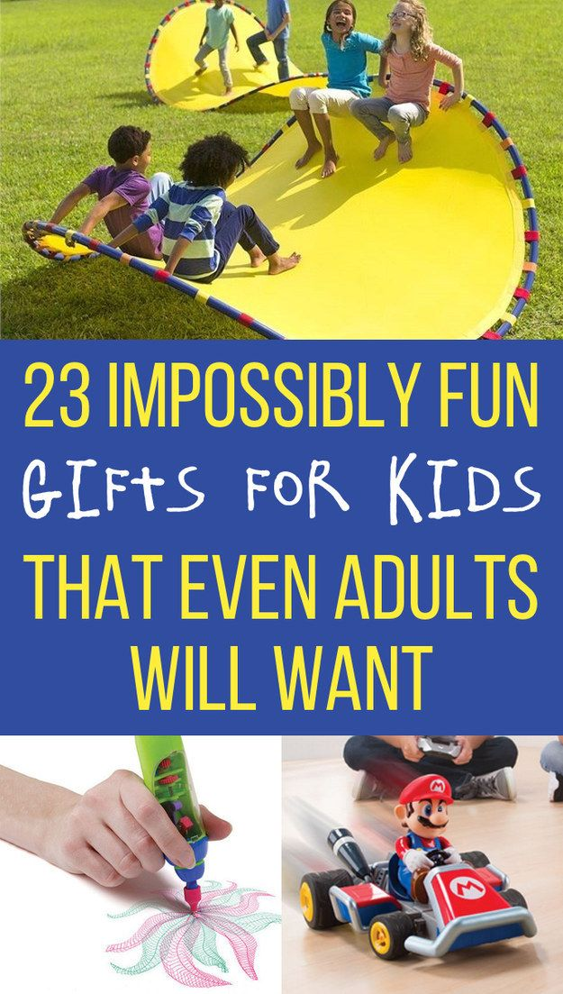23 Impossibly Fun Gifts For Kids That Even Adults Will Want