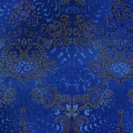 Robert Kaufman Fabrics: APTM-5574-59 OCEAN by Peggy Toole from Fusions® 5574